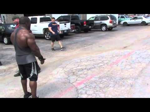 Johnnie Jackson Olympia Training Chest Workout 5-29-12.m4v