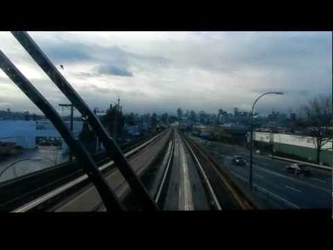 Skytrain Vancouver Canada 2012 (Comercial Brodway - Granville)