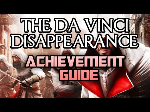 The Da Vinci Disappearance - All Achievements Guide [110G]