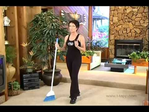 Burn More Fat  When You Use Your Broom -- Secrets from Teresa Tapp