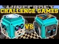 Minecraft: DANTDM VS POPULARMMOS CHALLENGE GAMES - Lucky Block Mod - Modded Mini-Game