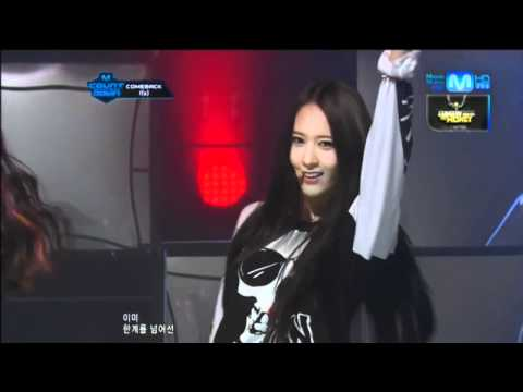 f(x)_Intro+Electric Shock @Mcountdown 2012.06.14