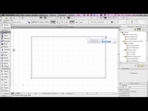 ArchiCAD Basic Training Lesson 2 | Creating a Virtual Building | QuickStart Course Excerpt