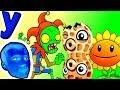 Забавный Арахис Помогает ПРоХоДиМЦу Защищать РАСТЕНИЙ! #484 Мультик ИГРА Растения против ЗОМБИ 2