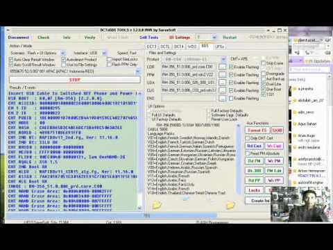 Flashing Nokia 5800 whit usb hwk 220