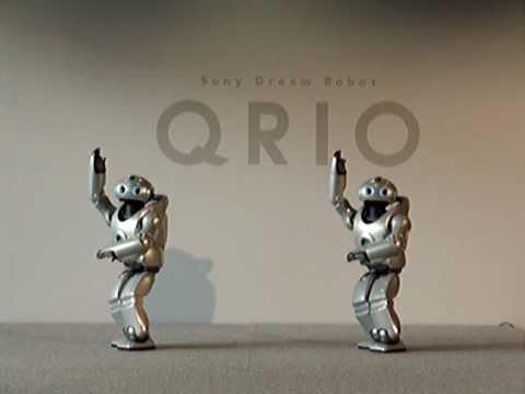 Sony's Qrio Dance Salsa