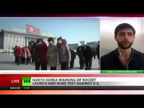 (North Korea) threats of NUCLEAR-MISSILE-STRIKE USA  3/31/13