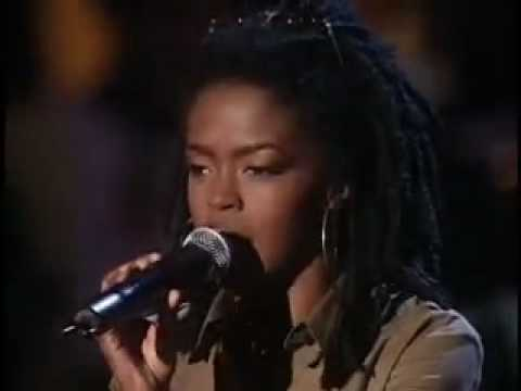 Redemption Song- Lauryn Hill feat. Ziggy Marley (Live)