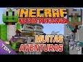 Minecraft  Parque dos Dinossauros - Temp 2 - Ep 12 - MUITAS AVENTURAS