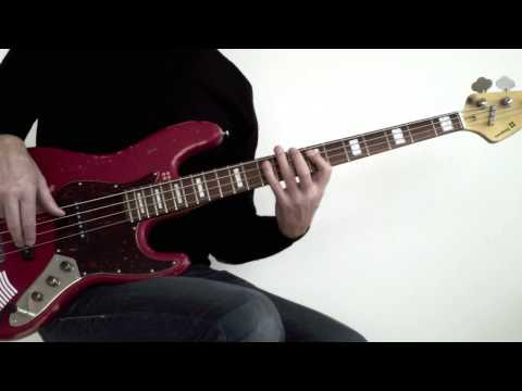 2. Bass fretboard fitness with the pentatonic scale