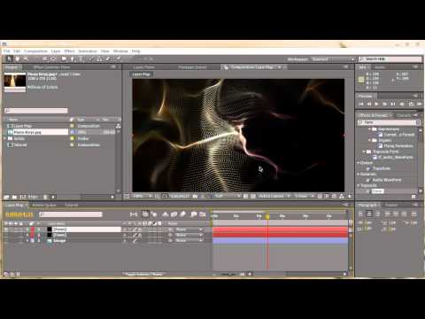 AE: Layer Maps with Trapcode Form