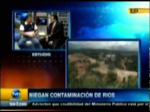 Petaquilla Gold - Frontera Agrícola - Entrevista TVN 20-12-2010