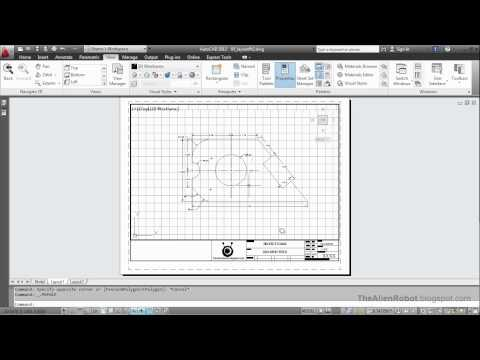AutoCAD 2012 Introduction Training-1506 Creating layout p3