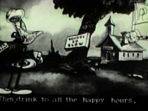The Stein Song [1930] Screen Songs Cartoon [Rudy Vallee]