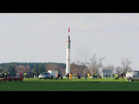 World Record Model Rocket | 3/4 Scale Mercury Redstone