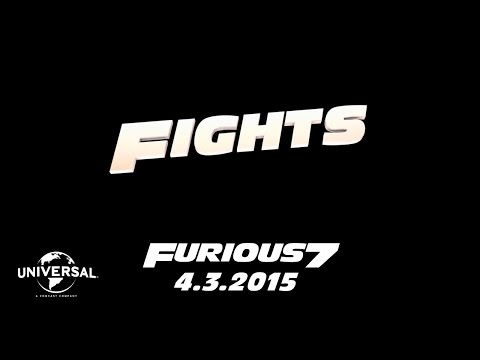 Furious 7 Cast Favorites - Fights (HD)