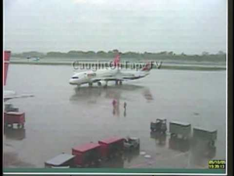 Planes Collide On Tarmac