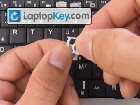 Repair Keyboard Keys Aspire Extensa Ferrari ONE Netbook Travelmate Fix Laptop Installation Replace