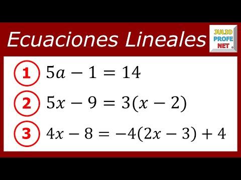 Solucion de tres ecuaciones de primer grado con una incognita