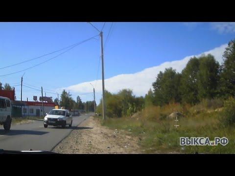 ВБорковке таксист-лихач едва неспровоцировал ДТП