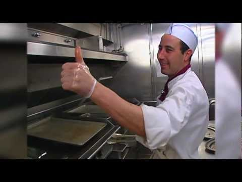 Cruise Ship Food on the Holland American Ryndam for KTUU-TV
