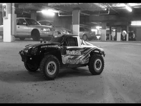 RC ADVENTURES - 4X4 SHORT COURSE SPECIAL! MADBASH 8TH SCALE TRUCK - PT 3 - UNDERGROUND FUN