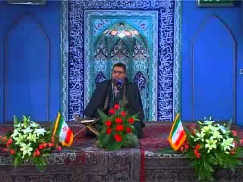 June 2013   Iran   Quran Recitation by Sheikh Qari Anwar Shahat