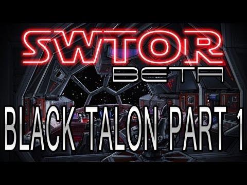 SWTOR - Black Talon Flashpoint Part 1 - Sith Assassin