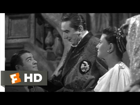 Bud Abbott and Lou Costello Meet Frankenstein (7/11) Movie CLIP - Return of the Count (1948) HD