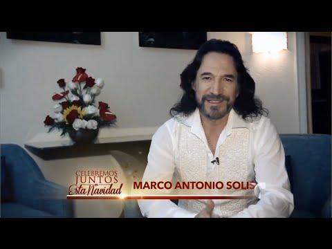 Mensaje navideño de Marco Antonio Solís a todos sus fans