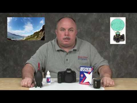The Wet Method of Cleaning a Digital SLR Sensor