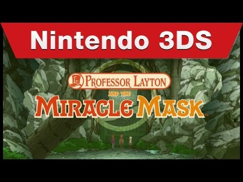 Professor Layton and the Miracle Mask - Teaser Tráiler