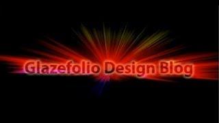 Photoshop Tutorial Light Burst Text Effect | Glazefolio Design Blog