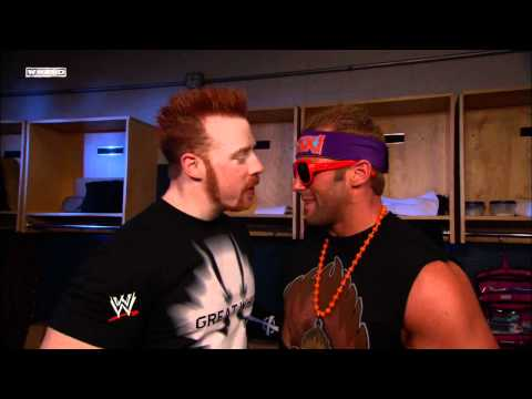 Friday Night SmackDown - Sheamus confronts Zack Ryder while he plays WWE -12