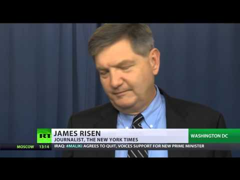 US  Investigative Journalist James Risen faces Jail For Protecting 8/15/14  (Whistleblower)