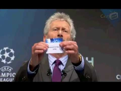 Drawing UEFA Champion League Quarter Final 2011-2012 16-3-12