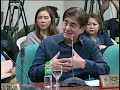 LIVESTREAM: Commission on Appointments hearing of DSWD Sec. Taguiwalo