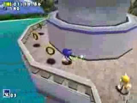 Sonic Adventure Emerald Coast (Dreamcast)