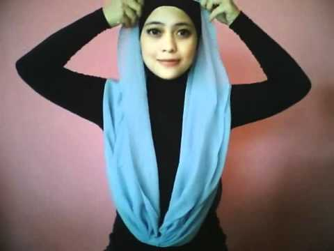Hijab Tutorial by dentist_nia part 6 (Necklace Shawl by KURMA)