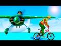 САМОЛЕТЫ ПРОТИВ BMX НА ТОП ДЕТРАНЕ! (GTA 5 Смешные моменты)