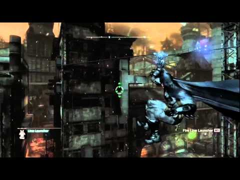 Batman: Arkham City - Riddler Guide - Physical Challenges-Line 1
