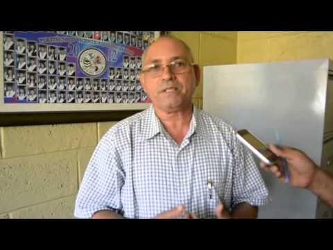 El director de la escuela Técnico Vocacional Vicente Aquilino Santos, Daniel Almánzar.