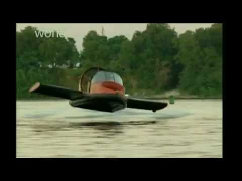 Discovery Channel HD - Universal Hovercraft UH 19XRW Hoverwing™ Ground Effect Hovercraft