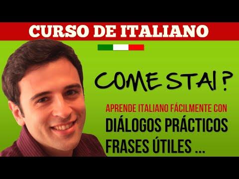 Curso de Italiano 1 Aprender Italiano - Frases en Italiano