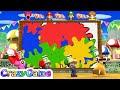 Mario Party 9 Step It Up - Birdo vs Mario vs Luigi vs Daisy Master CPU Gameplay