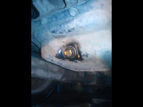 как проверить масло в двигателе киа сид