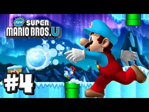 New Super Mario Bros U Wii U - Part 4 World 3