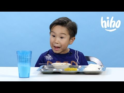 American Kids Try School Lunches from Around the World - Episode 2