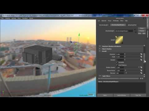 Arnold Maya Rendering Tutorial by Jon Tojek