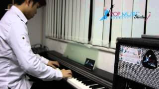 [PMS教學] 陳奕迅 富士山下 Piano Solo - By Timothy Yin @ Pop Music Studio